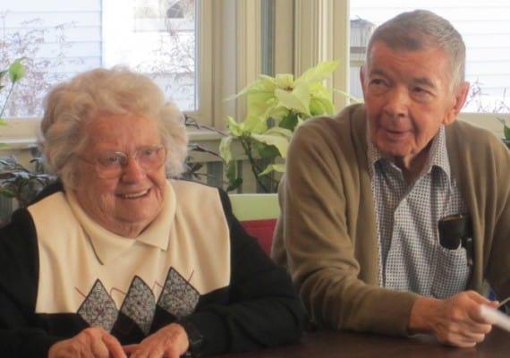 Residents enjoy getting together for activities