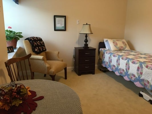 Residents can bring their own bed and dressers or we can provide them